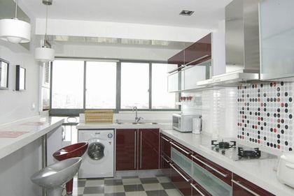 厨房装修效果图 瓷砖的选择
